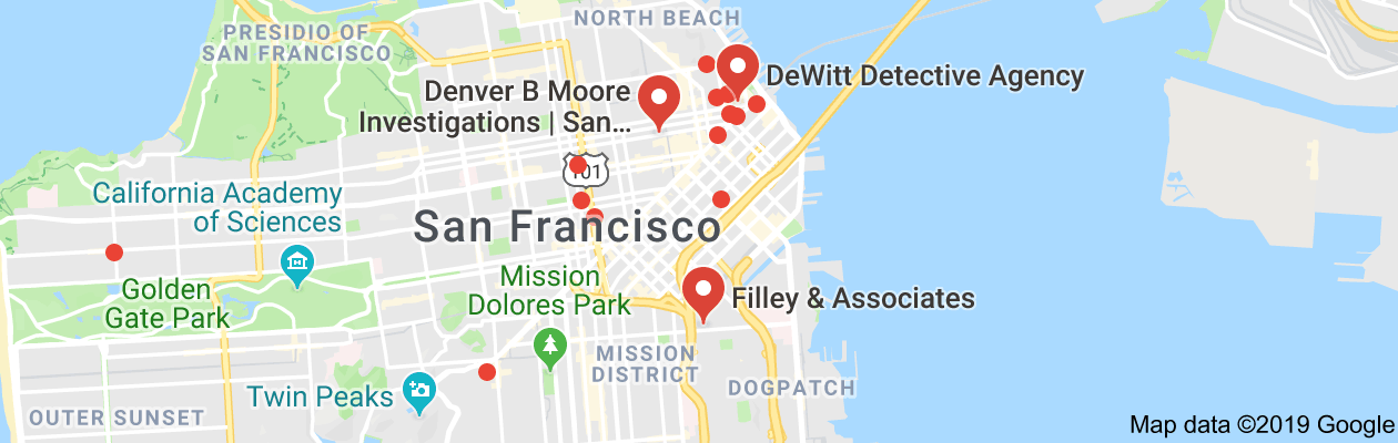 San Francisco, ca private investigators