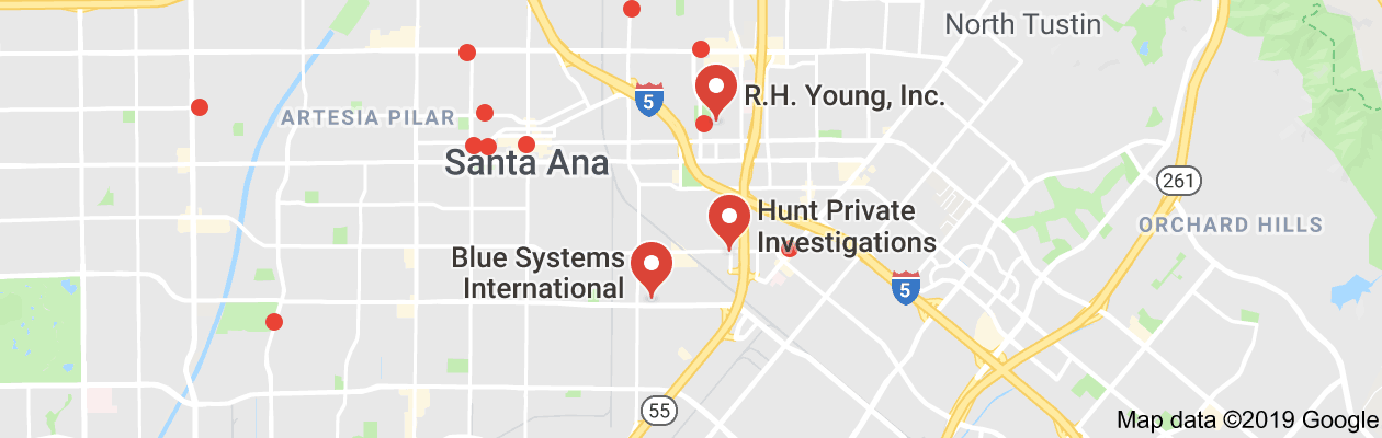 Santa Ana, ca private investigators
