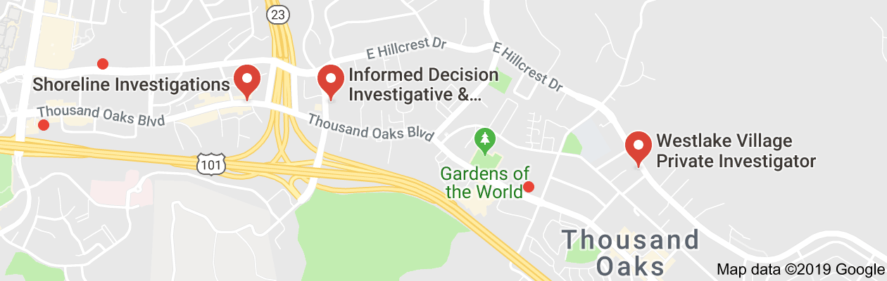 Thousand Oaks, CA private investigators