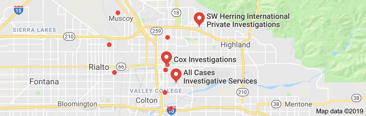 san bernardino, ca private investigators